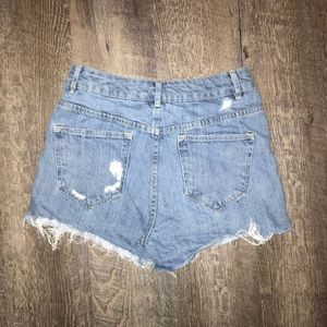 Divided Shorts - Divided Women's Distressed Shorts